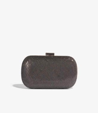 Karen Millen Glitter Box Clutch Bag