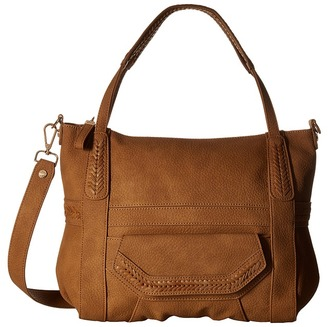 Steve Madden Distressed Tote $98 thestylecure.com