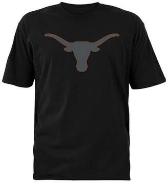 Colosseum Men Texas Longhorns Blackout Logo T-Shirt