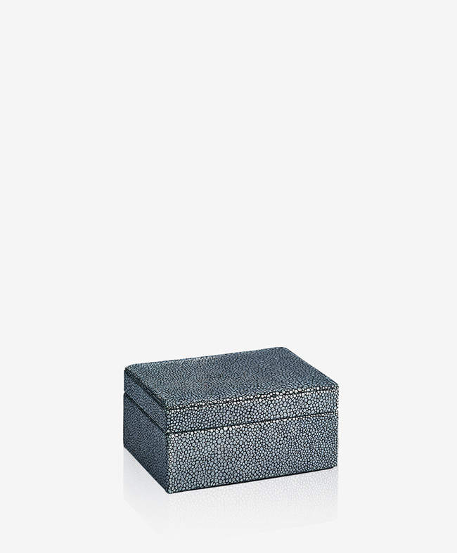 Small Box Shagreen Leather