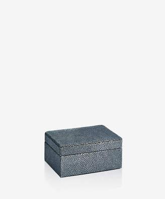 GiGi New York Small Box Shagreen Leather