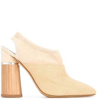3.1 Phillip Lim contrast sling-back pumps