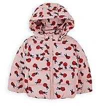 Stella McCartney Infants' Ladybug-Print Puffer Coat - Pink