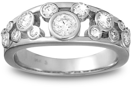 Disney Mickey Mouse Diamond Ring for Women - Platinum