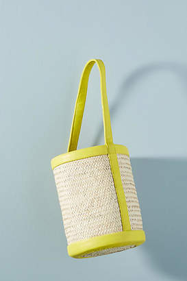 Parme Marin Structured Small Bucket Bag