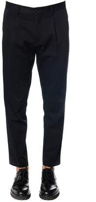 Low Brand Wool-cotton Blend Trousers With Pinces