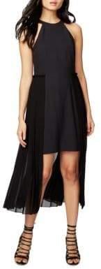 Rachel Roy Pleated High-Low Dress