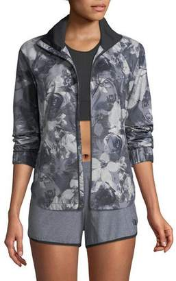 The North Face Reactor Floral-Print Zip-Front Jacket
