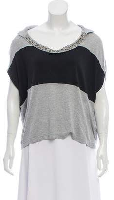 Alexandre Herchcovitch Embellished Crop Top