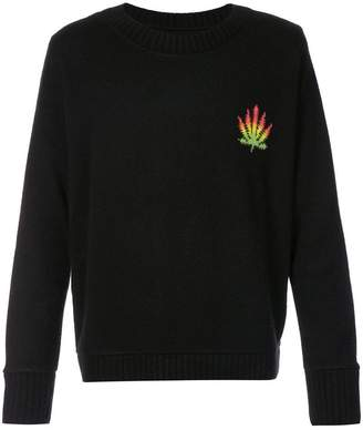 The Elder Statesman cashmere chunky knit jumper