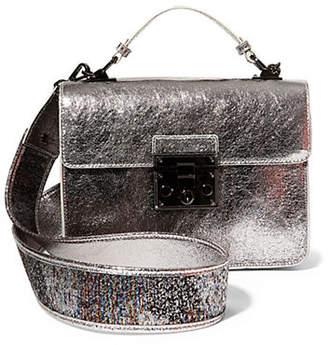 Steve Madden Zoe Metallic Mini Top Handle Bag