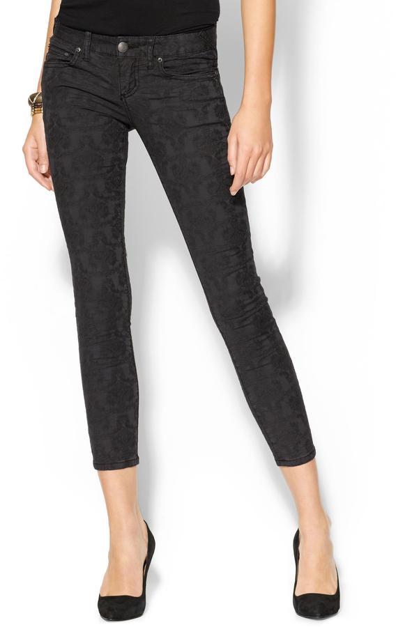 Free People Washed Vintage Jacquard Pant