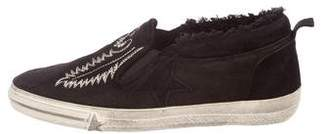 Golden Goose Hanami Embroidered Sneakers