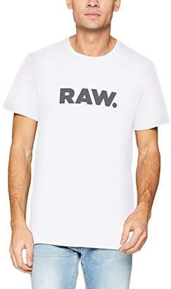 G Star Men's Holorn R T S/s T-Shirt, (White 110)