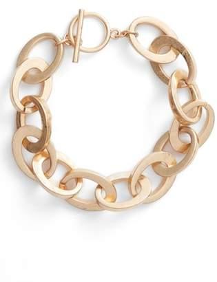Steve Madden Rolo Bar Ring Bracelet