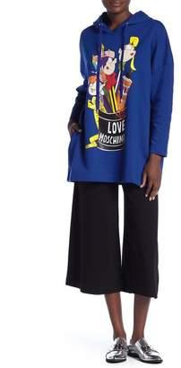 Love Moschino Solid 3/4 Pantalone