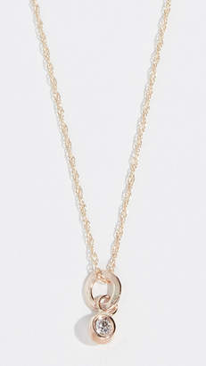 blanca monros gomez Diamond Seed 14k Necklace