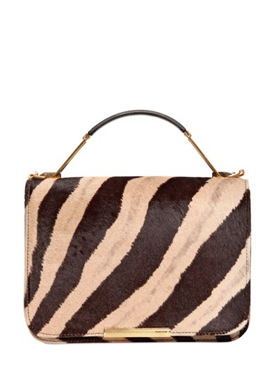 Emilio Pucci Mini Newton Ponyskin Shoulder Bag