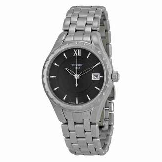 Tissot T-Lady Black Dial Stainless Steel Ladies Watch T0722101105800