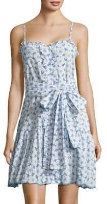 Lisa Marie Fernandez Cornflower Shift Dress
