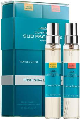 Comptoir Sud Pacifique Vanille Abricot & Vanille Coco Travel Spray Layering Duo