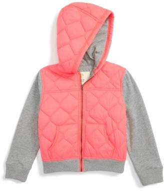Toddler Girl's Tucker + Tate Hooded Jacket $55 thestylecure.com