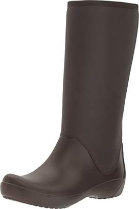 Crocs Women's Rainfloe Tall Rain Boot