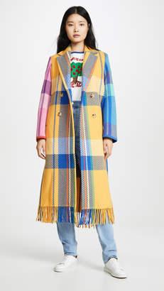 Mira Mikati Jumbo Check Wool Coat