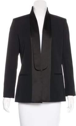 Victoria Beckham Structured Shawl Collar Blazer