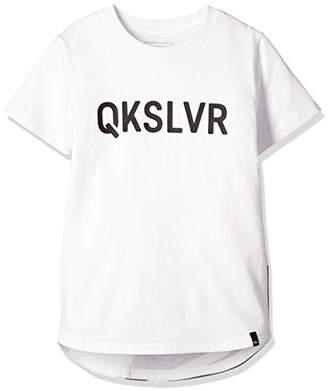 Quiksilver (クイックシルバー) - [クイックシルバー] Tシャツ MW Tail TEE Kids KST181116 [ボーイズ] WHT 日本 130 (日本サイズ130 相当)