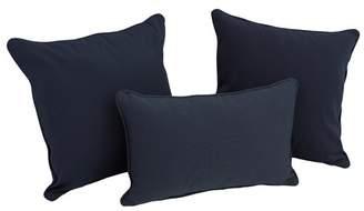 Darby Home Co Galbraith 3 Piece Twill Throw Pillow Set