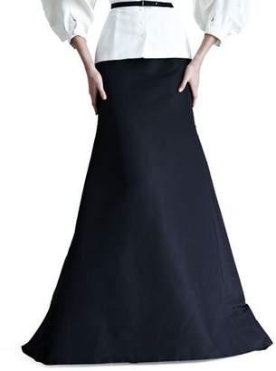 Carolina Herrera Silk Faille Gown Skirt