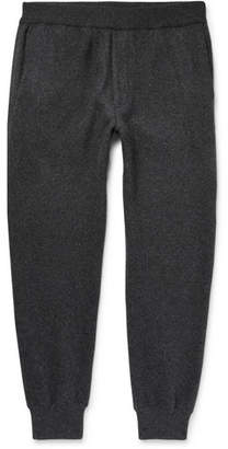 Prada Slim-Fit Tapered Virgin Wool And Cashmere-Blend Sweatpants