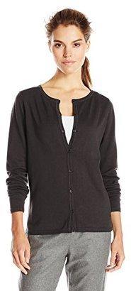 Dockers Women's Cardigan Cotton Sweater $9.79 thestylecure.com