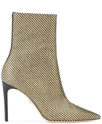 a017dd035 DSQUARED2 metallic stripe ankle boots