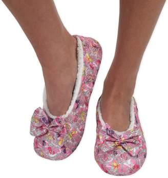 050af4ba399 at Amazon Canada · Snoozies Womens Brocade Shine Ballerina Comfort Split  Slipper Socks