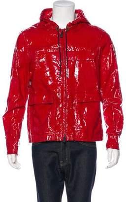 Moncler Legoufre Coated Linen Jacket