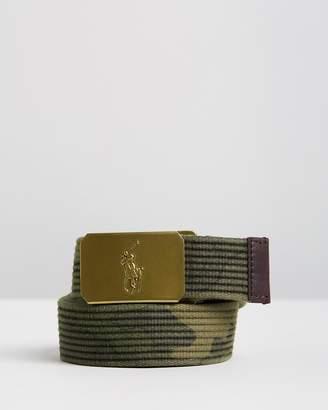 Polo Ralph Lauren Polo Player Webbing Belt