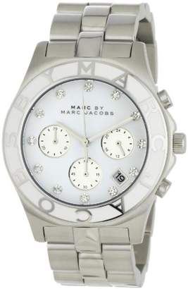 Marc by Marc Jacobs Women's MBM3080 Blade Classic Stainless Steel Chronograph Watch