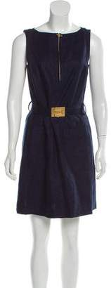 Tory Burch Belted Mini Dress