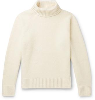 Holiday Boileau Mick Virgin Wool-Blend Rollneck Sweater - Men - Off-white