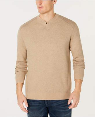 Tommy Bahama Men's Flip Side Classic Pima Cotton Sweater