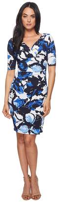 Lauren Ralph Lauren Chelsie Azrou Floral Dress Women's Dress