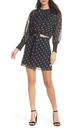 Ali & Jay Florence Two-Piece Chiffon Dress