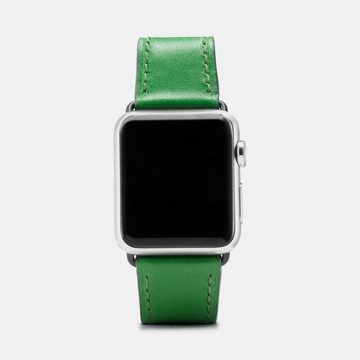 Coach  COACH Coach Apple Watch Floral Printed Leather Strap