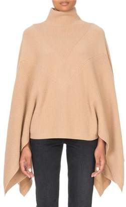 Givenchy Cashmere Turtleneck Cape-Sleeve Sweater