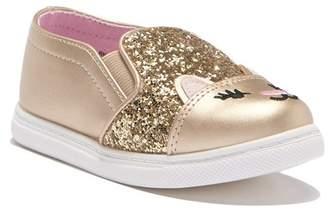 Harper Canyon Lil Rylie Cat Toe Sneaker (Toddler & Little Kid)