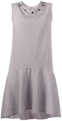 MUZA - Gray Linen Dress
