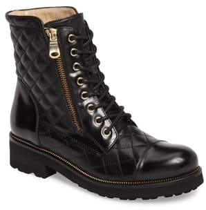 Ron White Tiffany Water Resistant Combat Boot