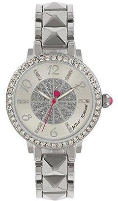 Betsey Johnson (ベッツィ ジョンソン) - Betsey Johnsonクリスタルダイヤルシルバーメタルブレスレット腕時計bj00617 – 01